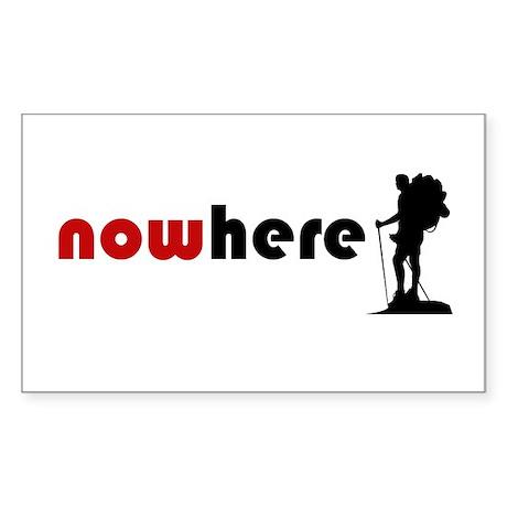 Nowhere (Hiker) Sticker