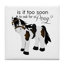 Is it too soon to ask for a Pony Tile Coaster