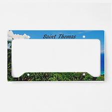 St. Thomas License Plate Holder