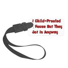 Child-Proofed Home Luggage Tag