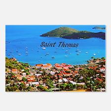 Saint Thomas Postcards (Package of 8)