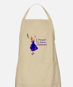Forgot To Have Children Apron