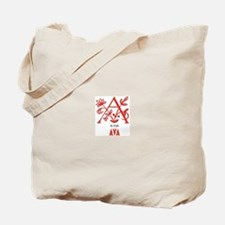 """A"" is for Ava Tote Bag"