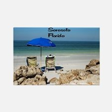 Siesta Key Rectangle Magnet