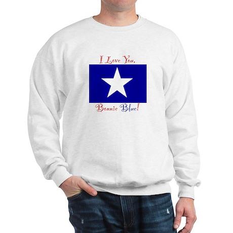 I Love You Bonnie Blue Sweatshirt