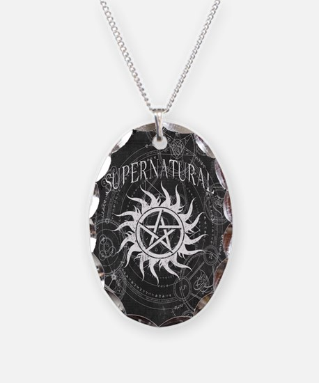 Supernatural Black Necklace