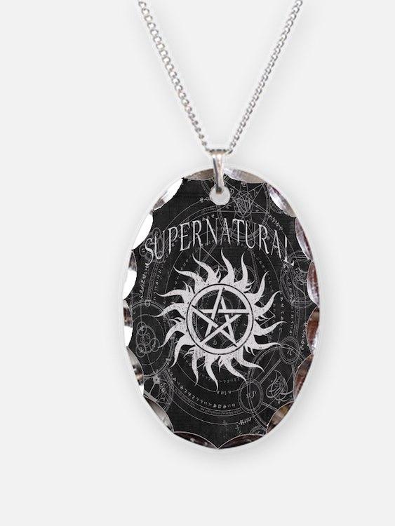 Supernatural Black Necklace