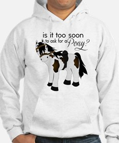 Is it too soon to ask for a Pony Hoodie