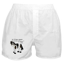 Is it too soon to ask for a Pony Boxer Shorts
