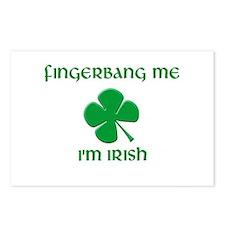 Fingerbang Me I'm Irish Postcards (Package of 8)