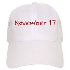 November 17 Baseball Cap