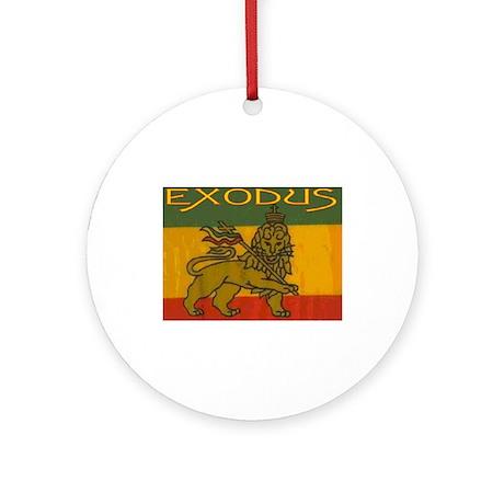 EXODUS Ornament (Round)