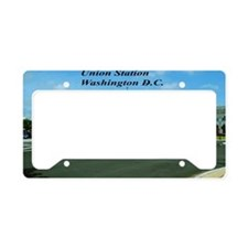 Union Station License Plate Holder