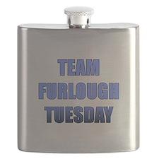 Team Furlough Tuesday Flask