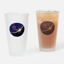 Expedition 35 Drinking Glass