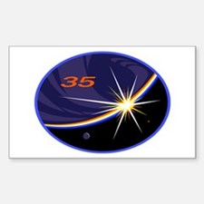 Expedition 35 Sticker (rectangle)
