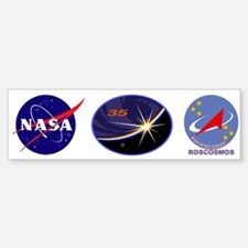 Expedition 35 Bumper Bumper Sticker