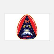 Expedition 34 Car Magnet 20 x 12