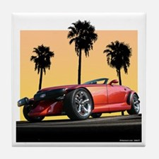 Plymouth Prowler Tile Coaster