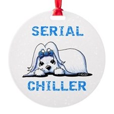 Maltese Serial Chiller Ornament