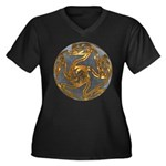 Faberge's Jewels - Grey Plus Size T-Shirt