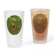 Faberge's Jewels - Green Drinking Glass