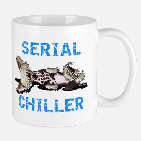 Chinese Crested Serial Chiller Mug