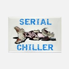 Chinese Crested Serial Chiller Rectangle Magnet