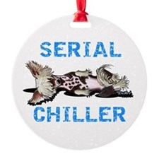 Chinese Crested Serial Chiller Ornament