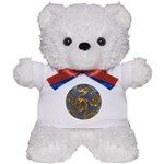 Faberge's Jewels - Blue Teddy Bear