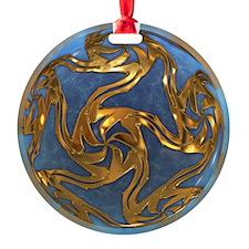 Faberge's Jewels - Blue Ornament