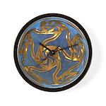 Faberge's Jewels - Blue Wall Clock