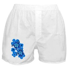BlueHibiscusHonuTee Boxer Shorts