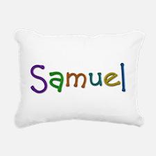 Samuel Play Clay Rectangular Canvas Pillow