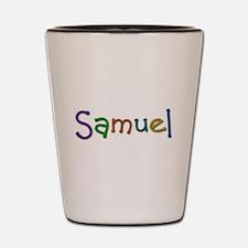 Samuel Play Clay Shot Glass