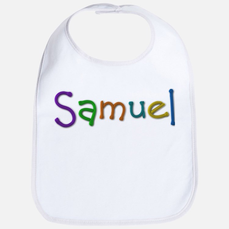 Samuel Play Clay Bib