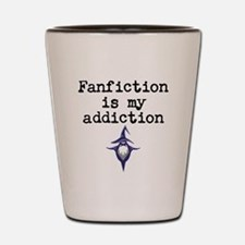 Fanfiction Shot Glass