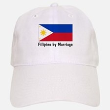 Filipino by Marriage Baseball Baseball Cap