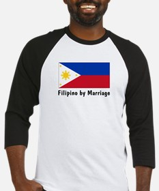 Filipino by Marriage Baseball Jersey