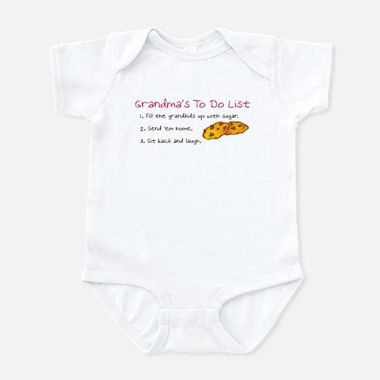 Grandma's To Do List Infant Body Suit