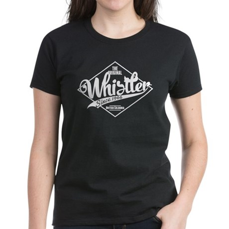 Whistler Vintage Women's Dark T-Shirt