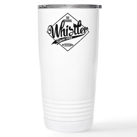 Whistler Vintage Stainless Steel Travel Mug