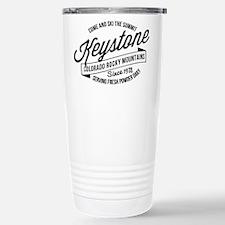 Keystone Vintage Black Travel Mug