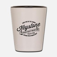 Keystone Vintage Black Shot Glass