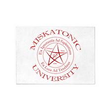 Miskatonic University 5'x7'Area Rug