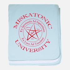 Miskatonic University baby blanket