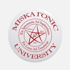 Miskatonic University Ornament (Round)