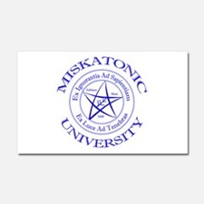 Miskatonic University Car Magnet 20 x 12