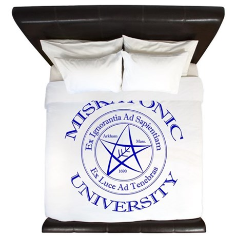 Miskatonic University King Duvet