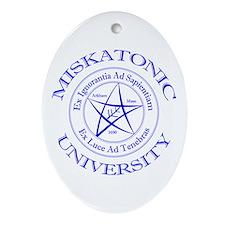 Miskatonic University Ornament (Oval)